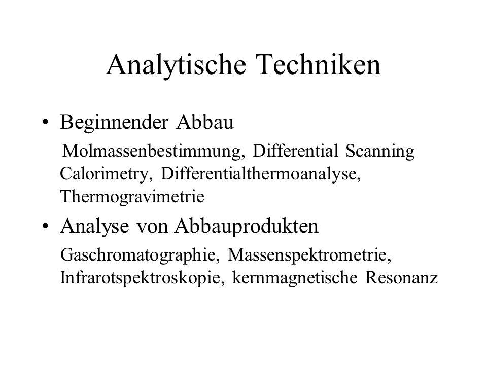 Analytische Techniken