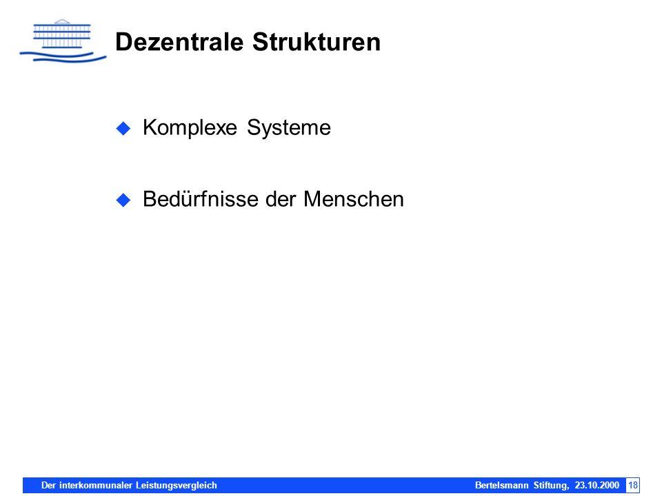 Dezentrale Strukturen