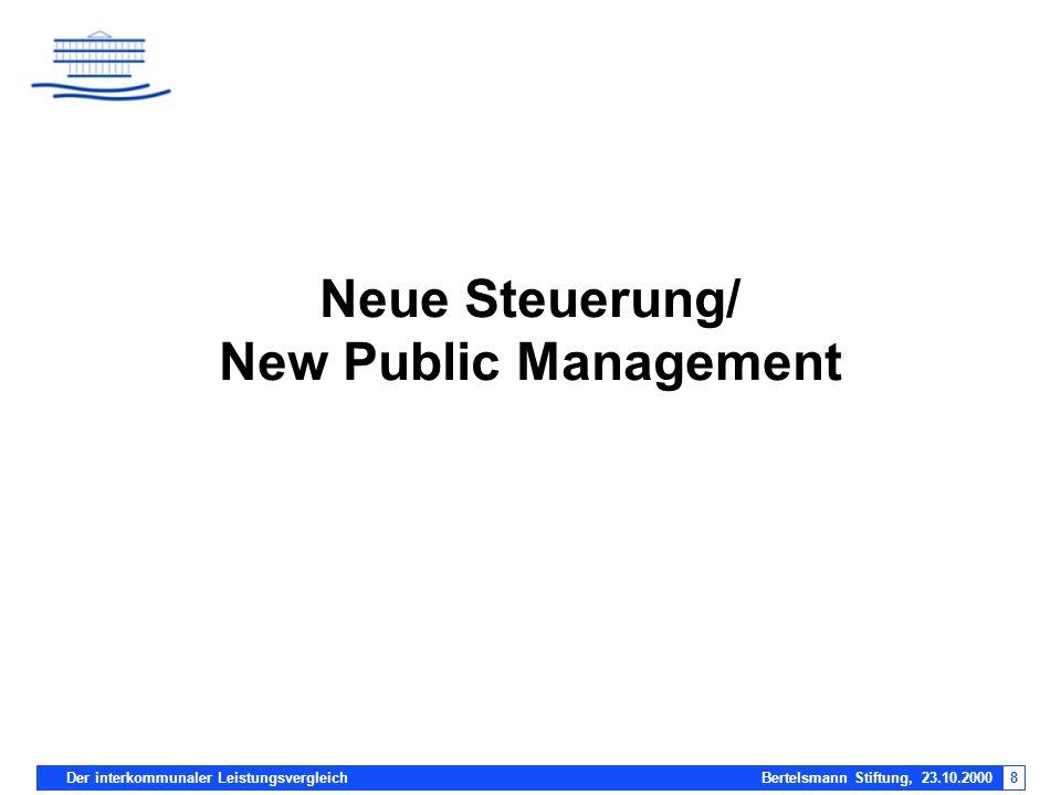 Neue Steuerung/ New Public Management