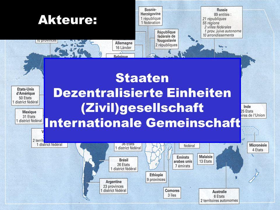Dezentralisierte Einheiten (Zivil)gesellschaft