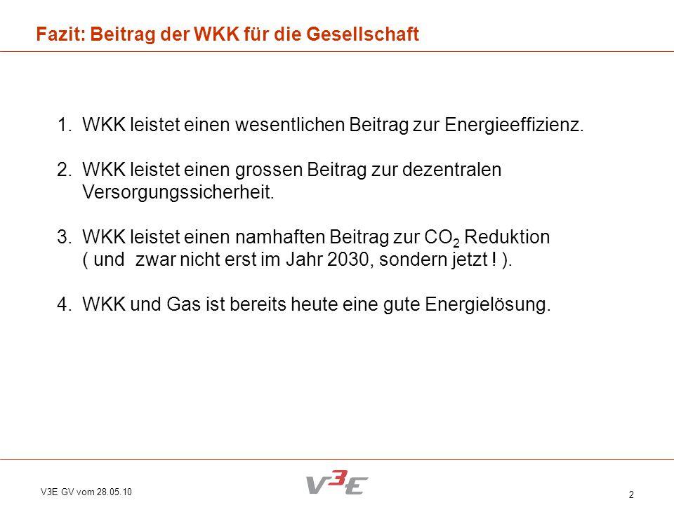 Fazit: Beitrag der WKK für die Gesellschaft