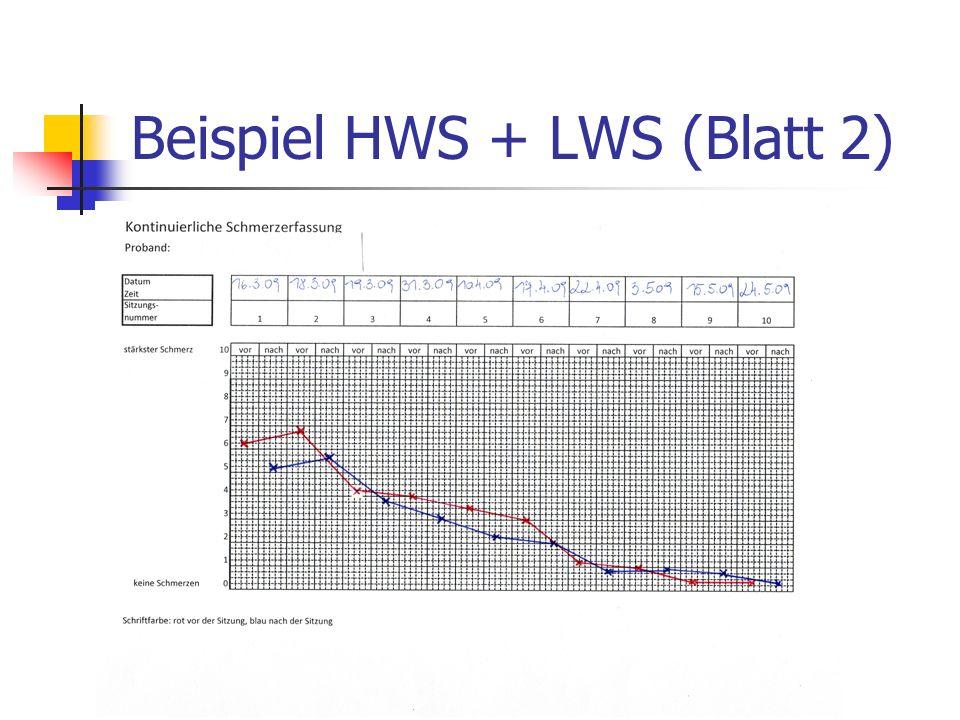 Beispiel HWS + LWS (Blatt 2)