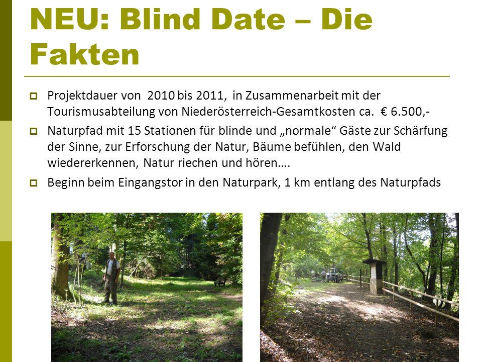 NEU: Blind Date – Die Fakten