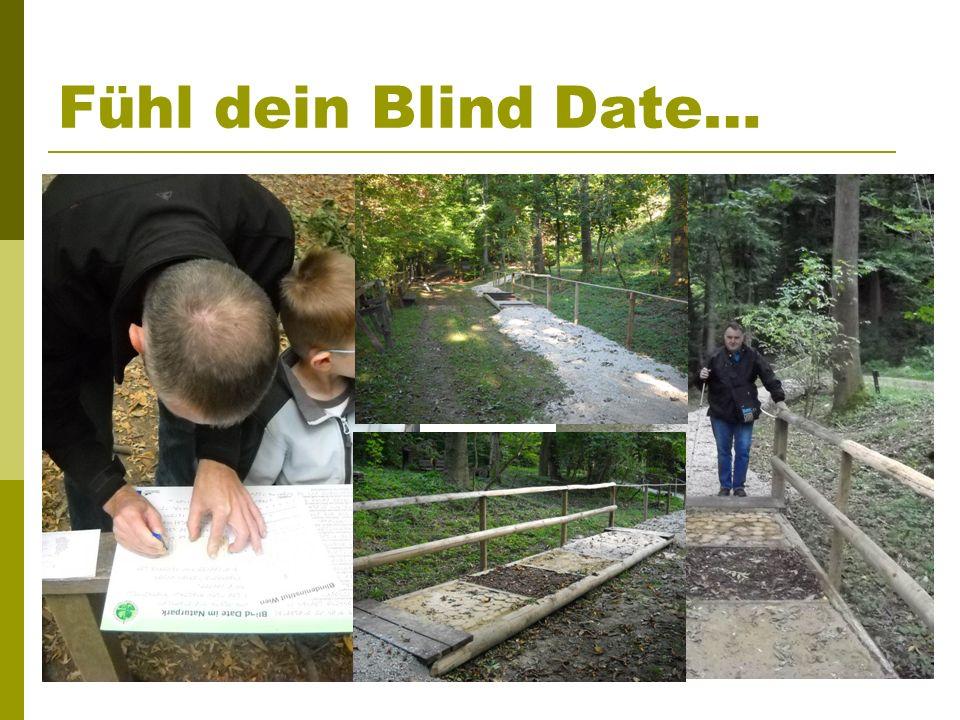 Fühl dein Blind Date…