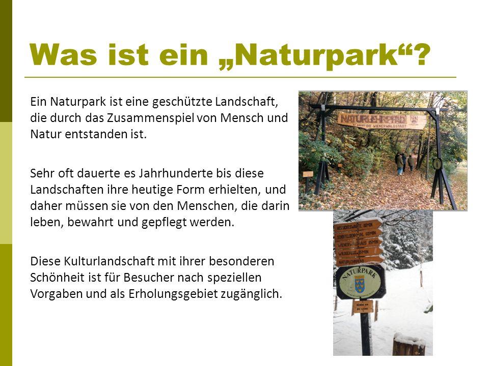 """Was ist ein """"Naturpark"""