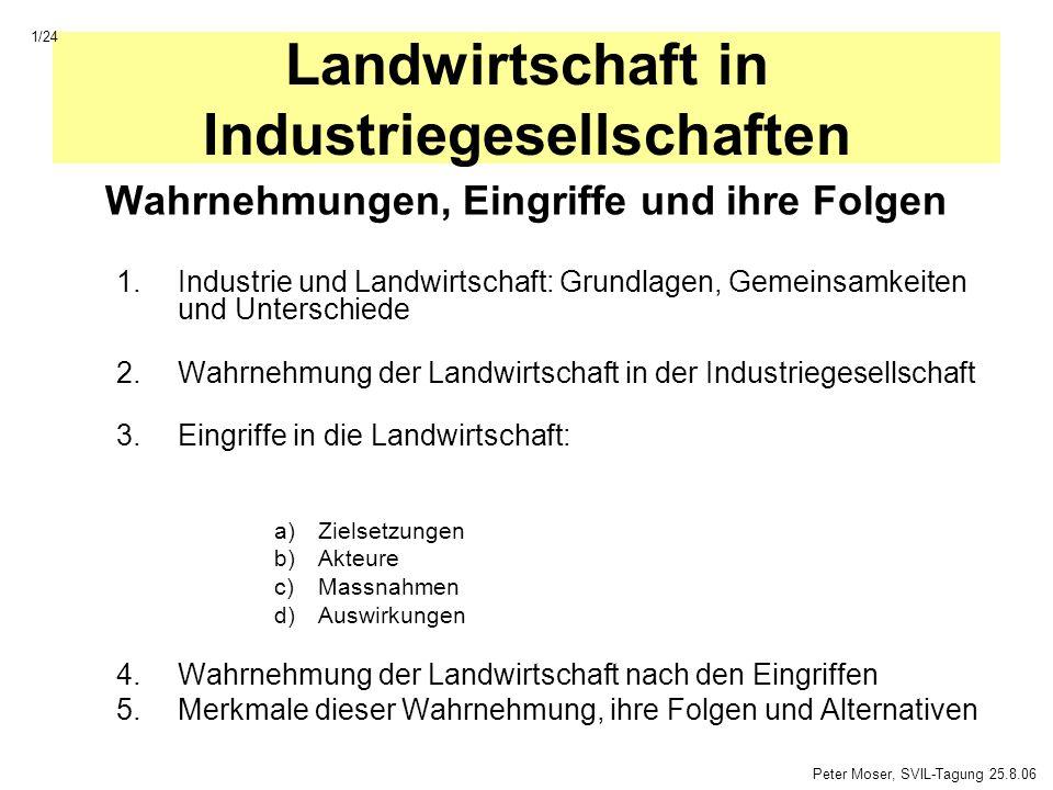 Landwirtschaft in Industriegesellschaften