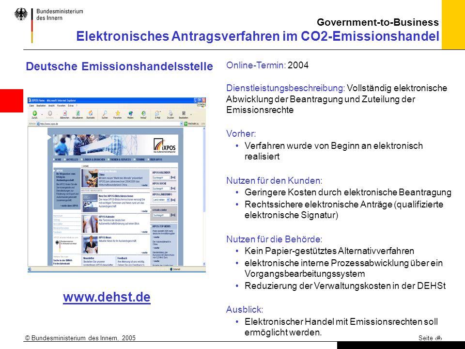 www.dehst.de Deutsche Emissionshandelsstelle