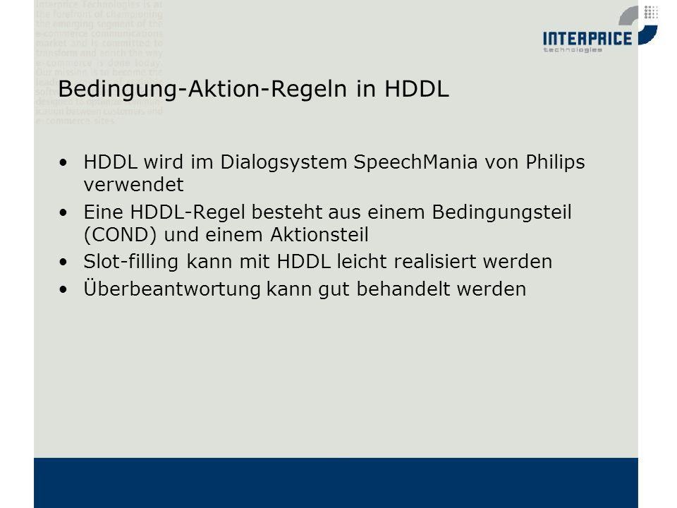 Bedingung-Aktion-Regeln in HDDL