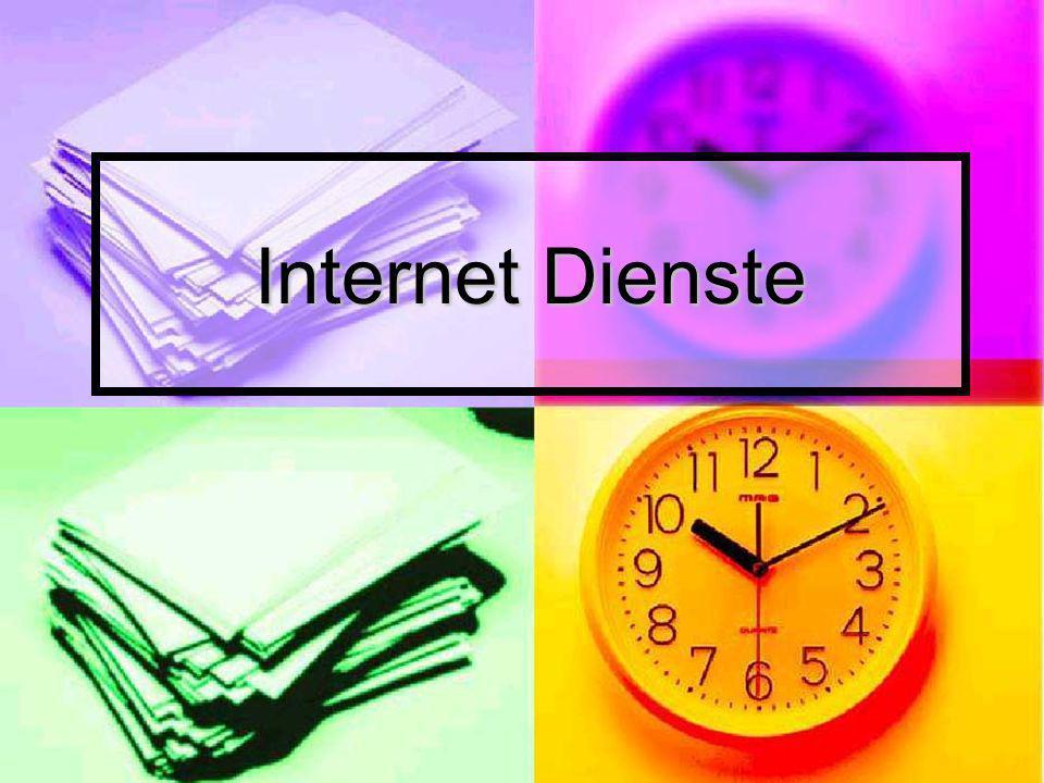 Internet Dienste asd