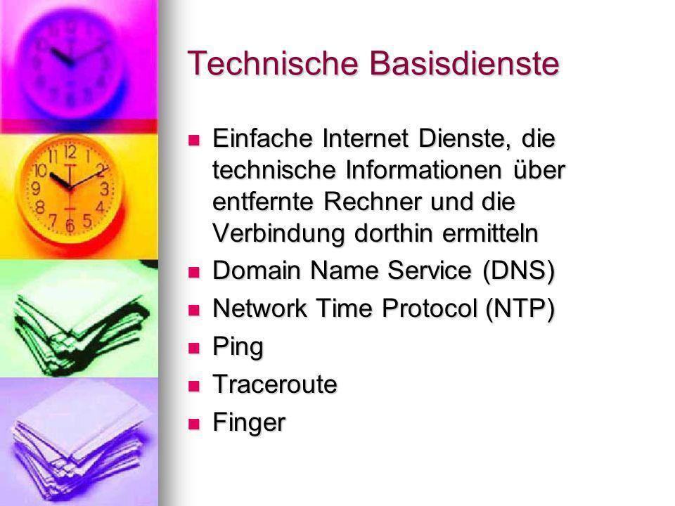 Technische Basisdienste
