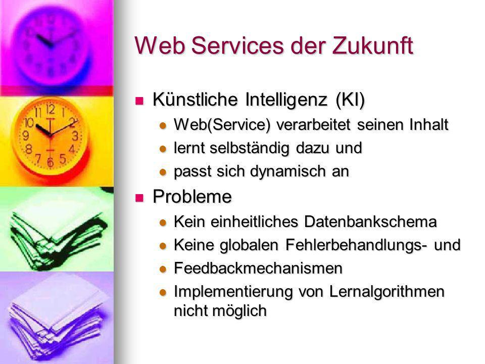 Web Services der Zukunft