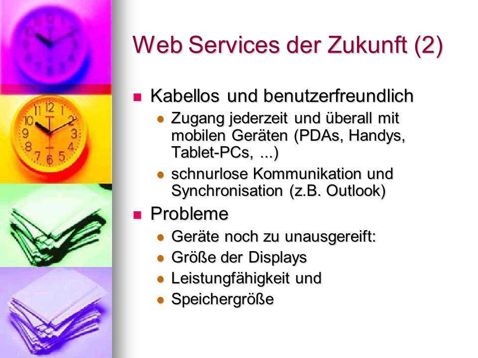 Web Services der Zukunft (2)