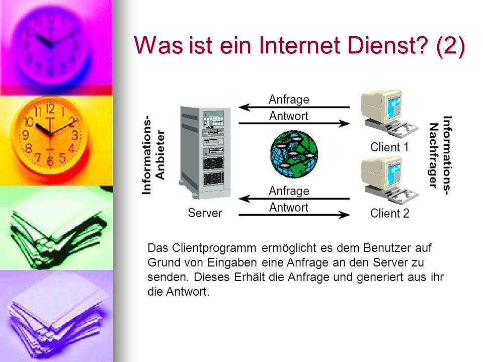 Was ist ein Internet Dienst (2)