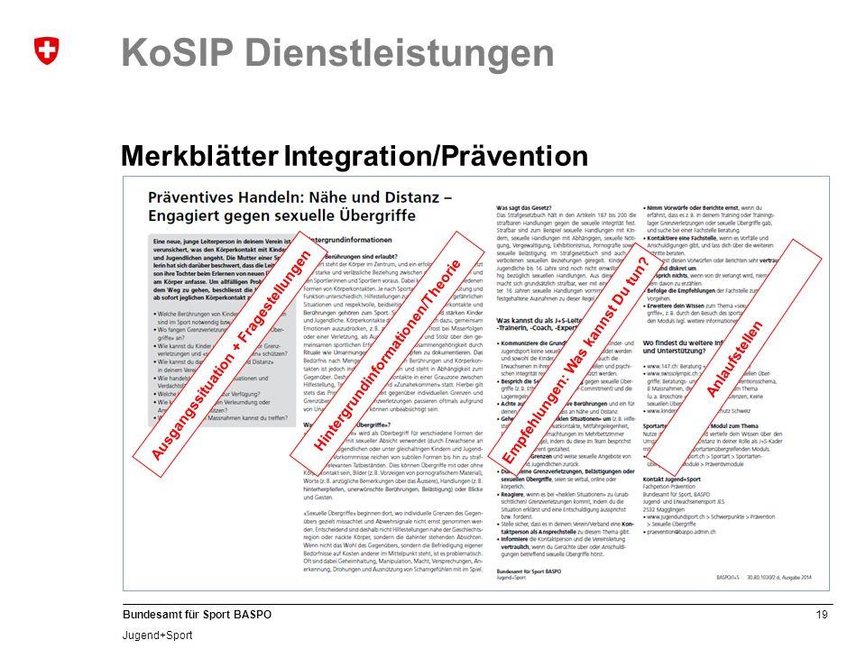 KoSIP Dienstleistungen