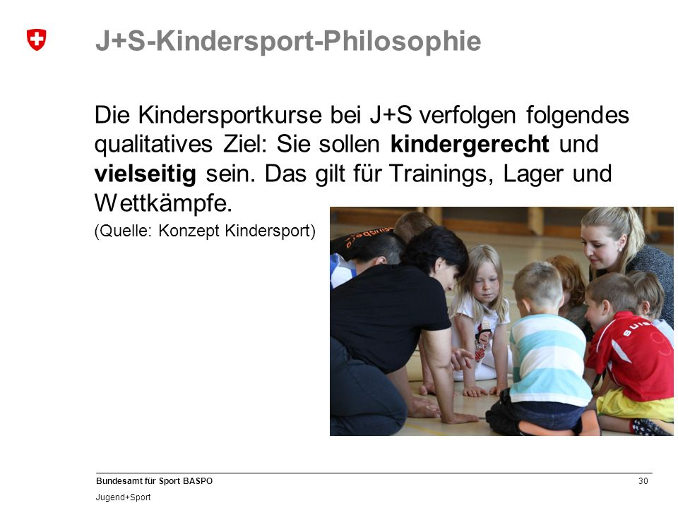 J+S-Kindersport-Philosophie