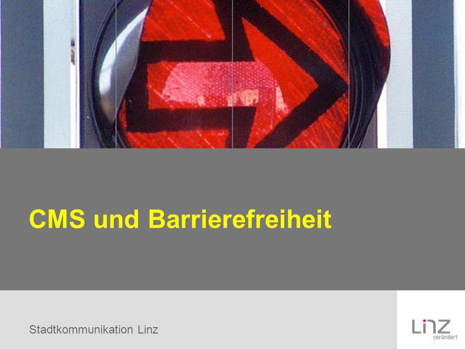 CMS und Barrierefreiheit