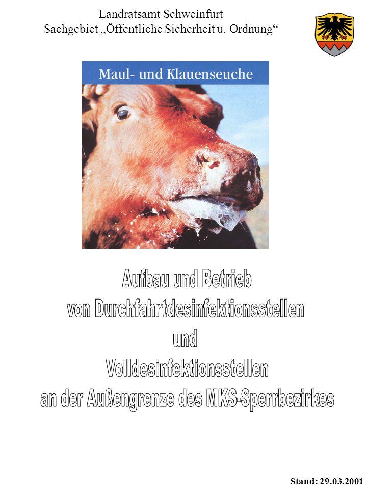 """Landratsamt Schweinfurt Sachgebiet """"Öffentliche Sicherheit u. Ordnung"""