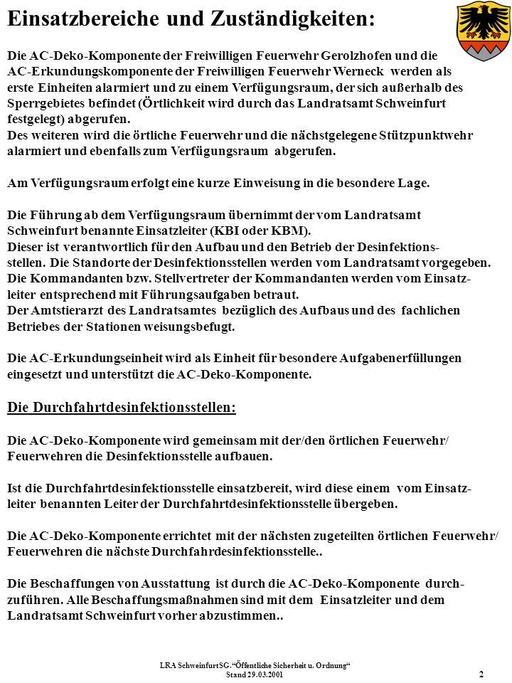 LRA SchweinfurtSG. Öffentliche Sicherheit u. Ordnung