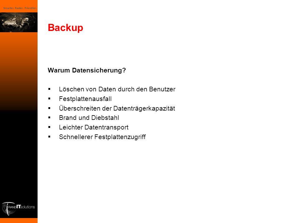 Backup Warum Datensicherung Löschen von Daten durch den Benutzer
