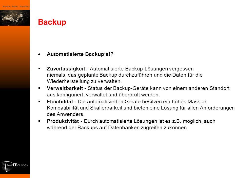 Backup Automatisierte Backup's!