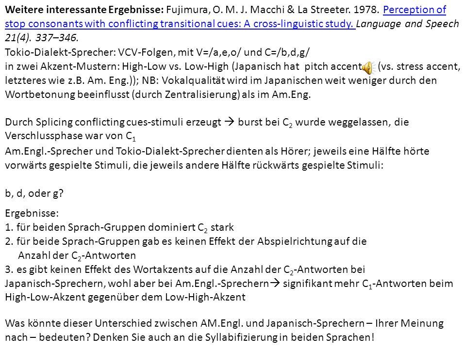 Weitere interessante Ergebnisse: Fujimura, O. M. J