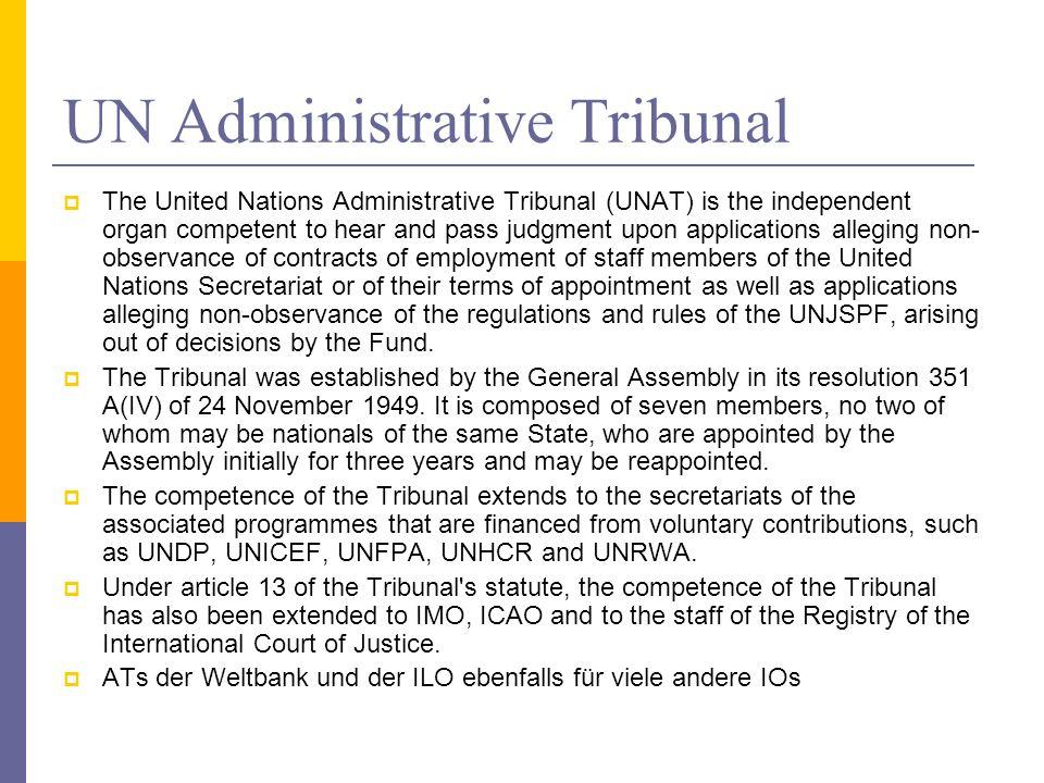 UN Administrative Tribunal