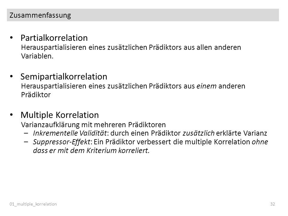 Semipartialkorrelation