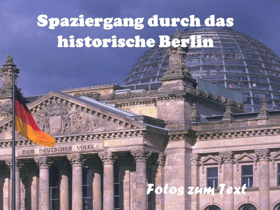 Spaziergang durch das historische Berlin