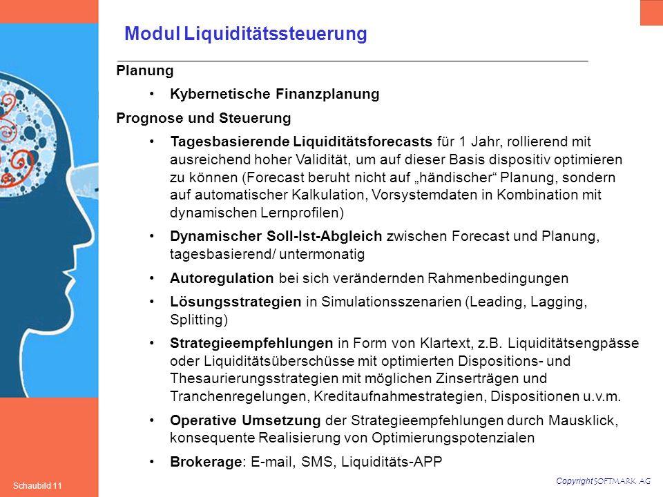 Modul Liquiditätssteuerung