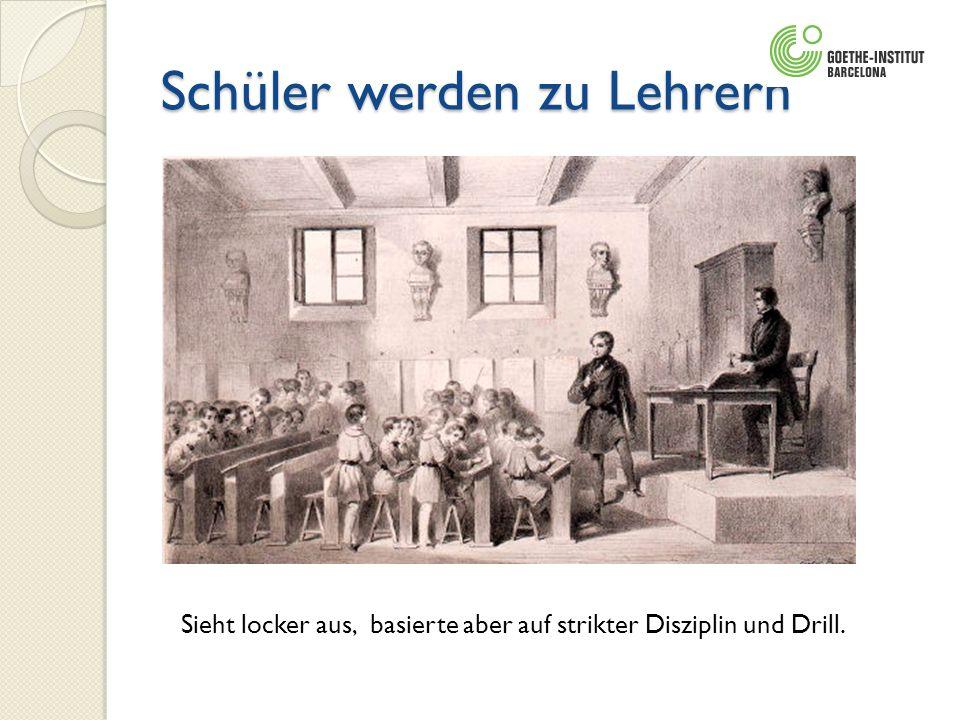 Schüler werden zu Lehrern