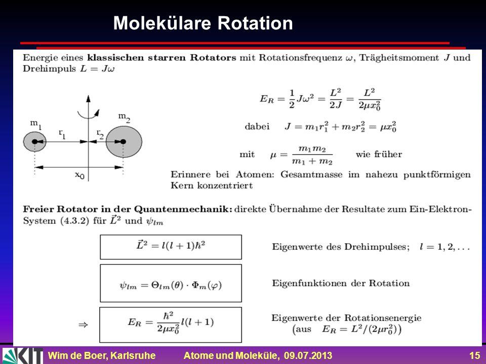 Molekülare Rotation