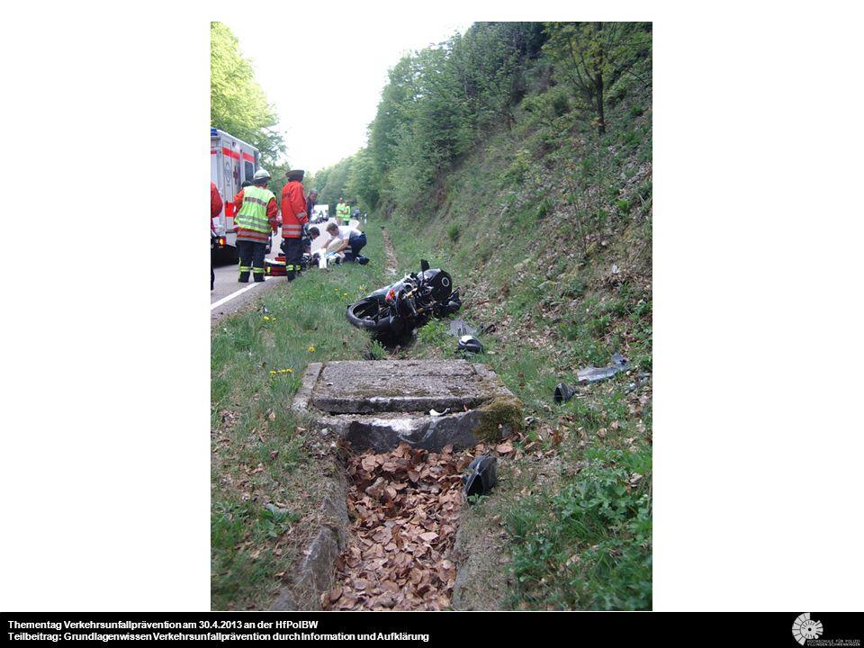 20 Thementag Verkehrsunfallprävention am 30.4.2013 an der HfPolBW