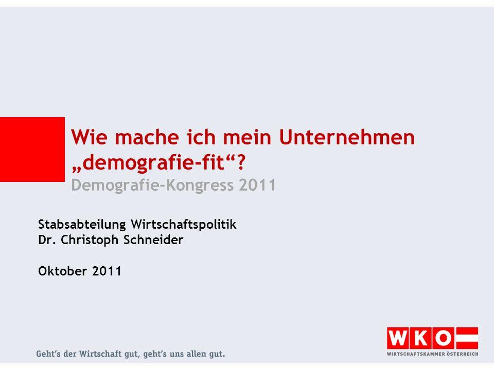 Stabsabteilung Wirtschaftspolitik Dr. Christoph Schneider Oktober 2011