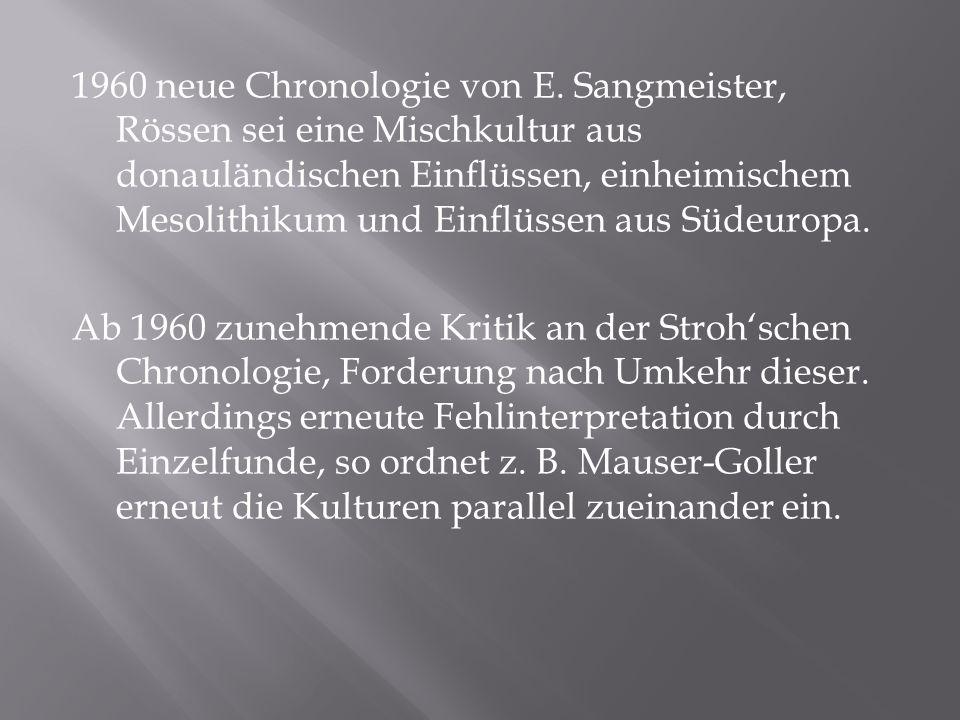 1960 neue Chronologie von E.