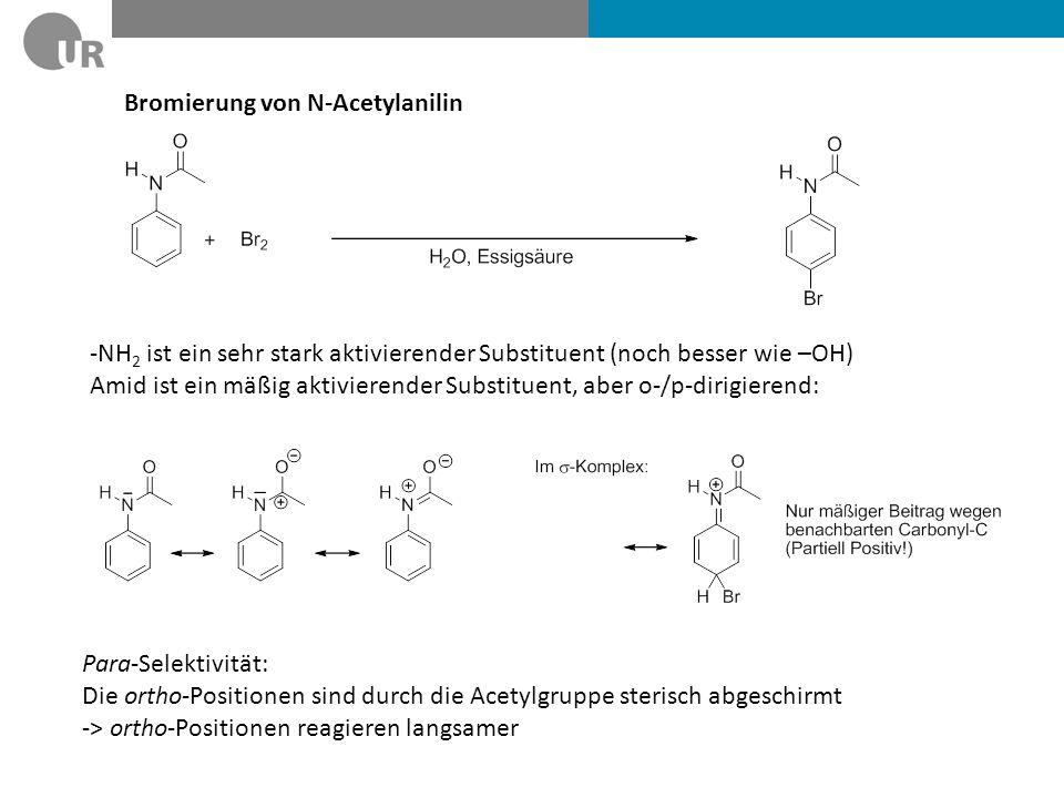 Bromierung von N-Acetylanilin