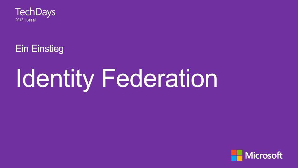 Ein Einstieg Identity Federation