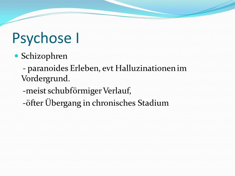 Psychose I Schizophren