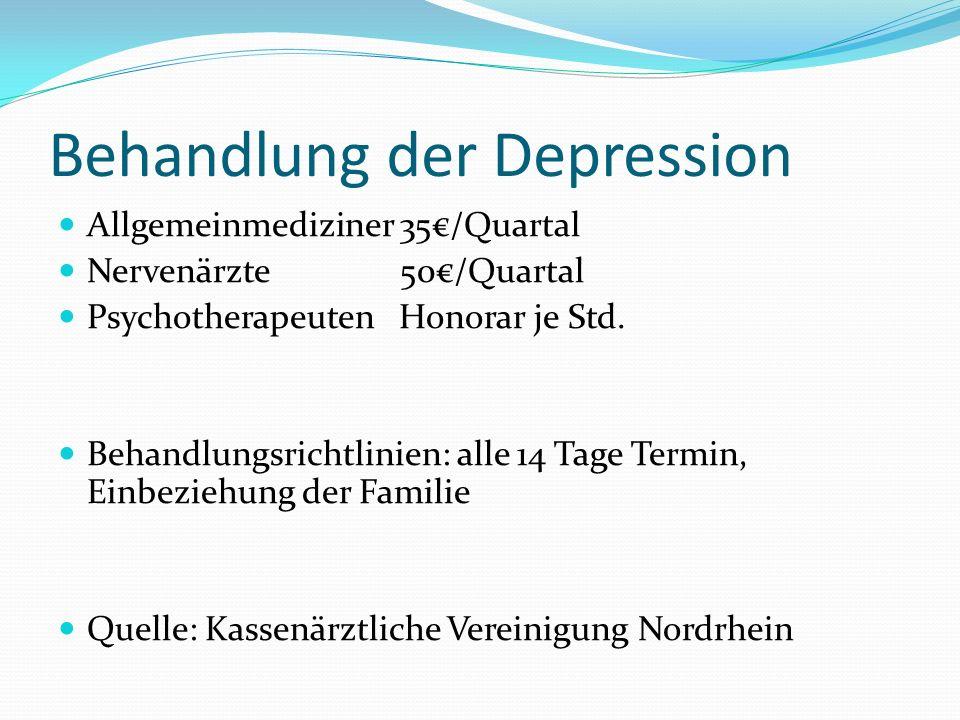 Behandlung der Depression