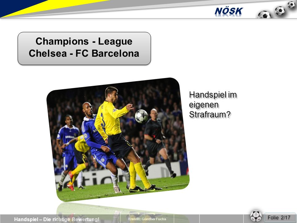 Champions - League Chelsea - FC Barcelona