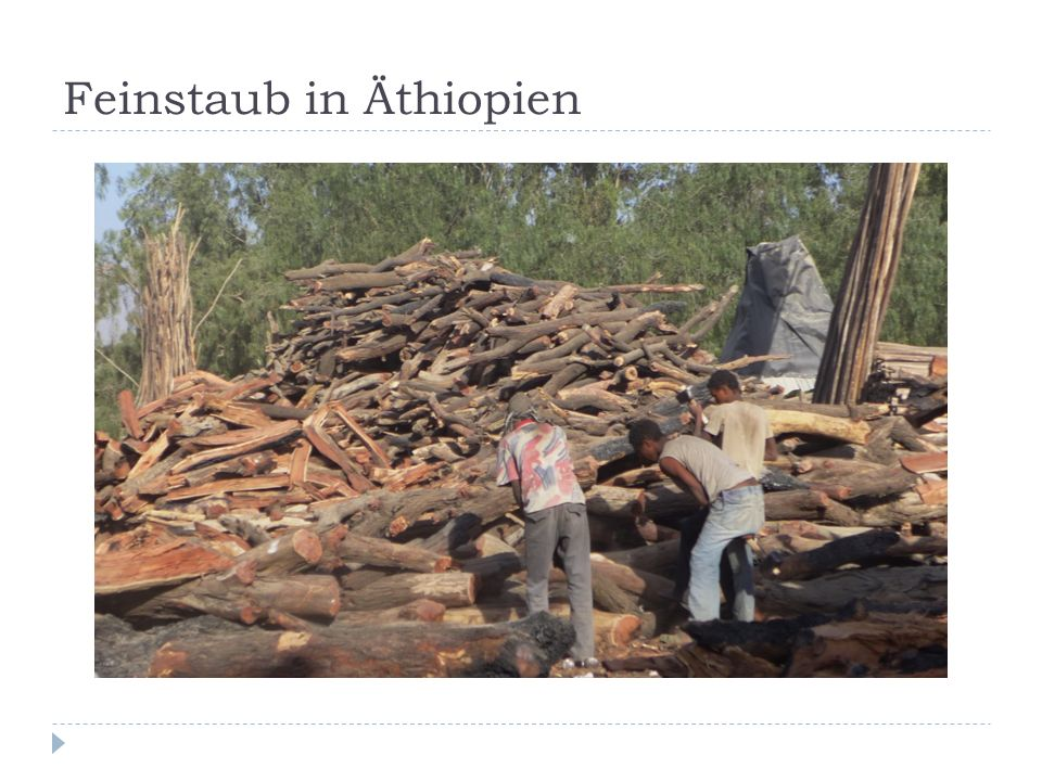 Feinstaub in Äthiopien