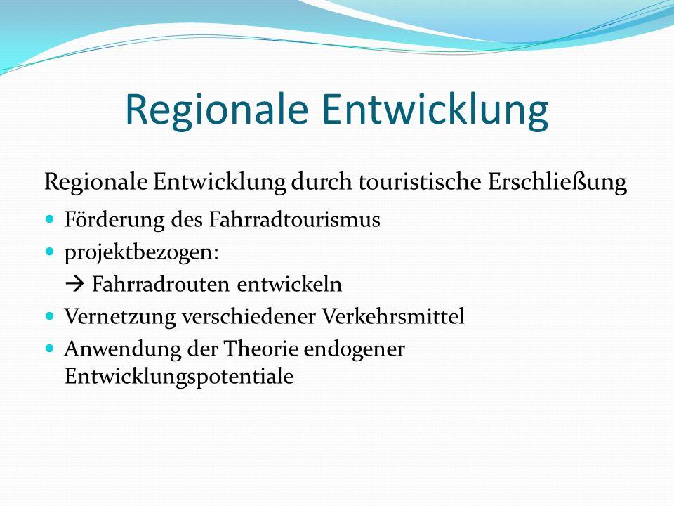 Regionale Entwicklung