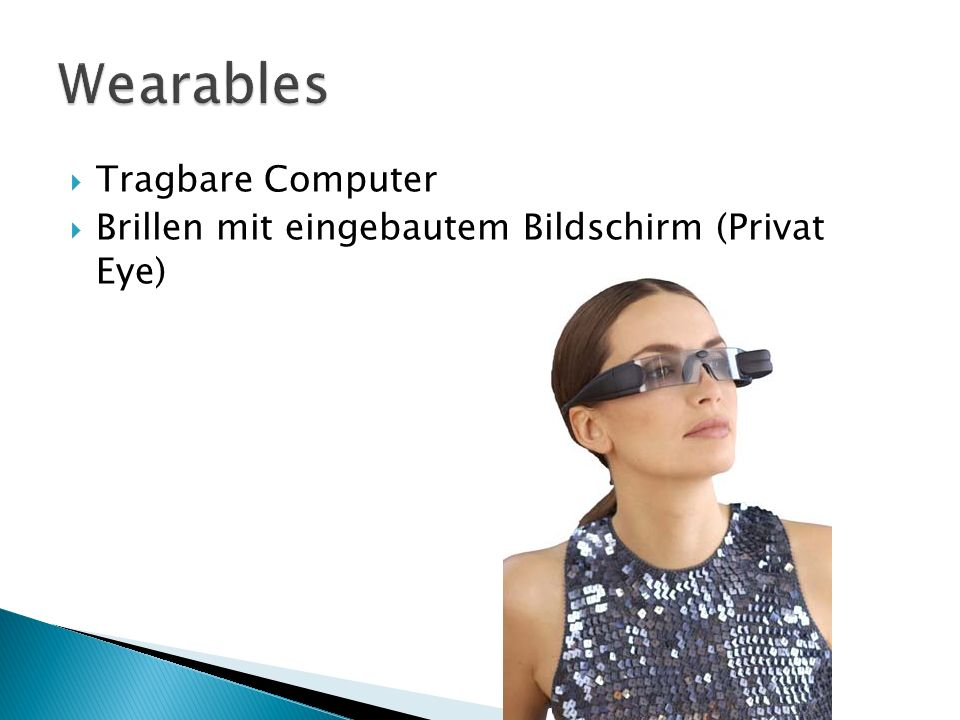 Wearables Tragbare Computer