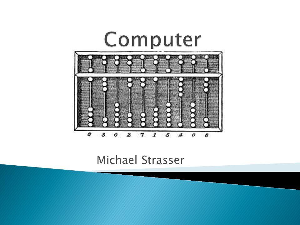 Computer Michael Strasser