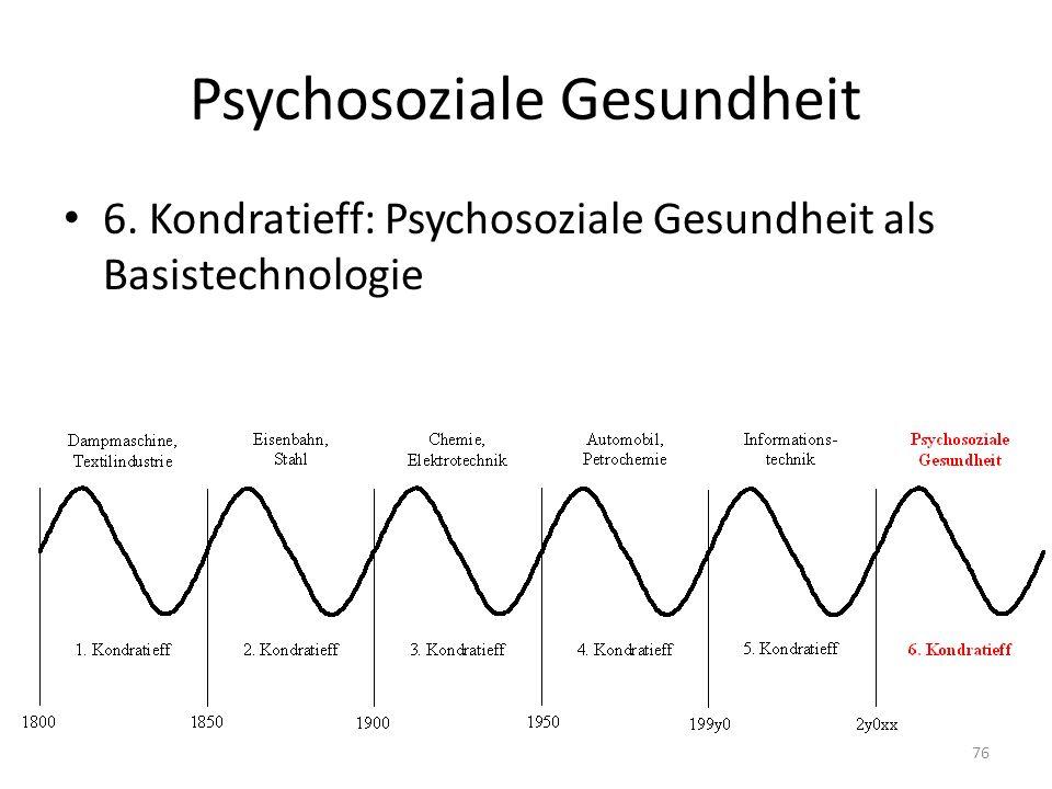 Psychosoziale Gesundheit