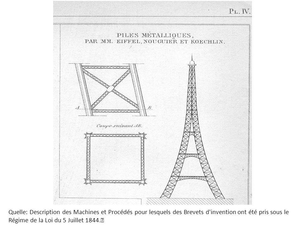 Quelle: Description des Machines et Procédés pour lesquels des Brevets d invention ont été pris sous le
