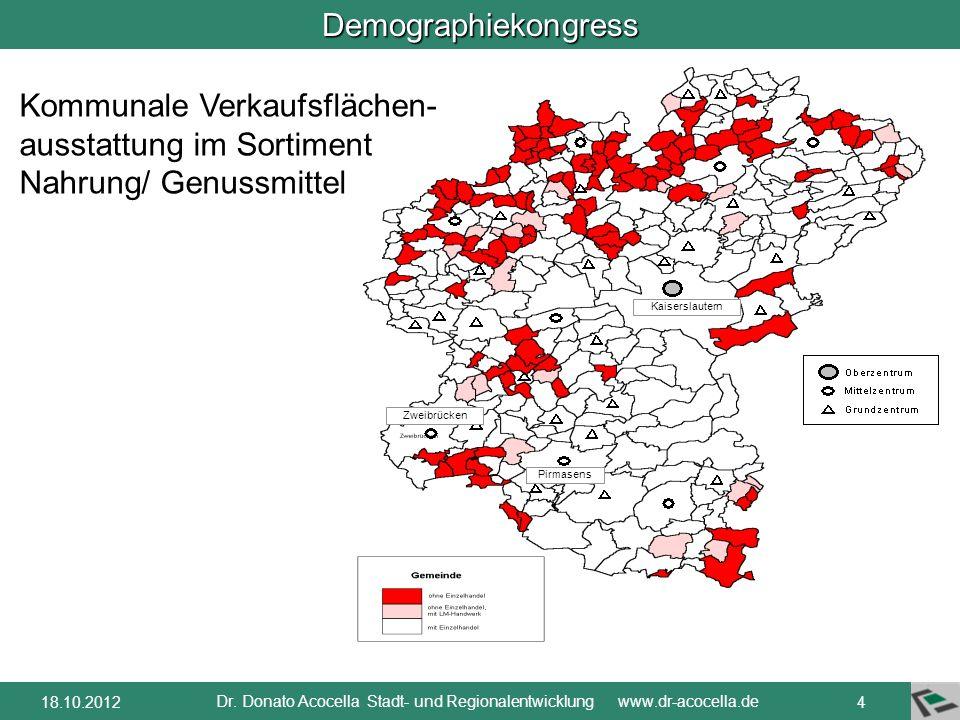 Dr. Donato Acocella Stadt- und Regionalentwicklung www.dr-acocella.de