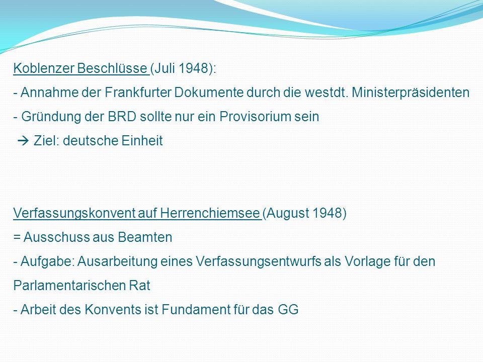 Koblenzer Beschlüsse (Juli 1948):