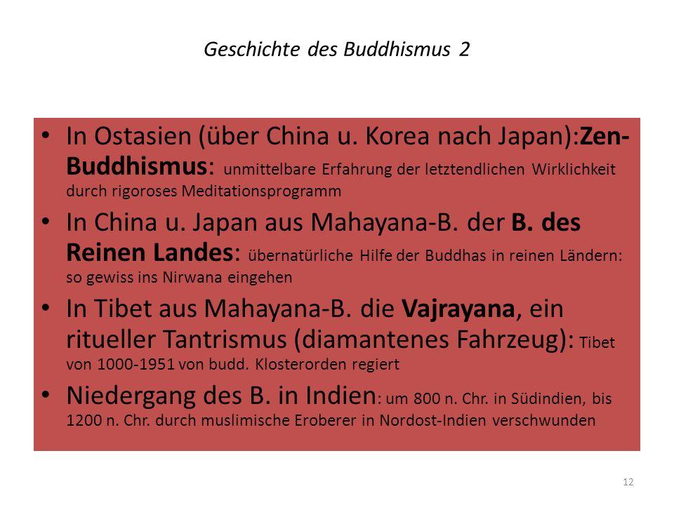 Geschichte des Buddhismus 2