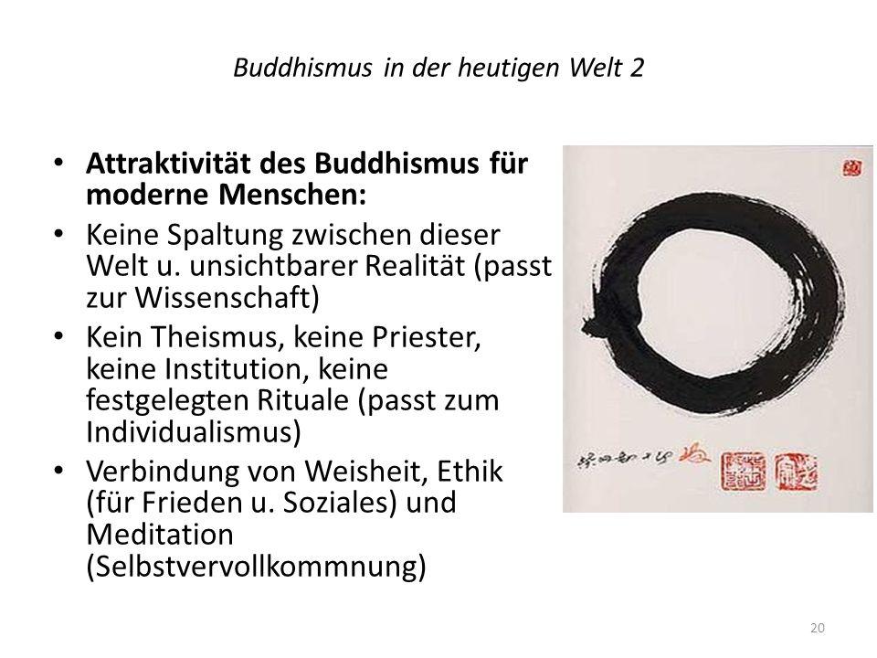 Buddhismus in der heutigen Welt 2
