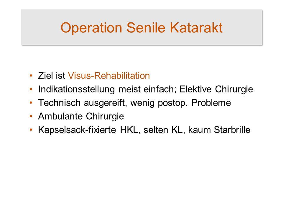 Operation Senile Katarakt